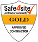 Safe4Site Gold Logo